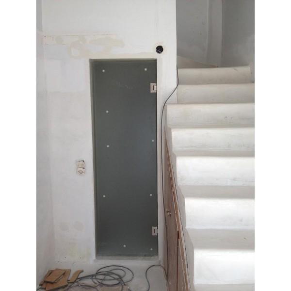 Πόρτα σατινέ βοηθητικού χώρου 01 Πόρτες tzamia-korobokis.gr